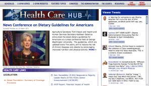 C-SPAN Healthcare Hub