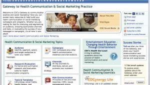 CDC Health Communication…