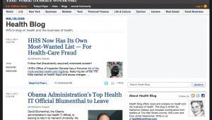 Wall Street Journal Health